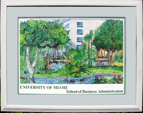 university-of-miami-poster