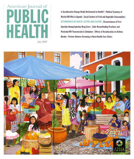 """Mayan Market??? (American Journal of Public Health - July 2007)"
