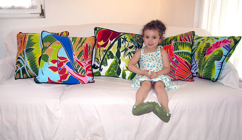 Couch of Pillows