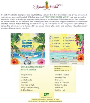 ISLAND PARTY- STEEL DRUMS CD