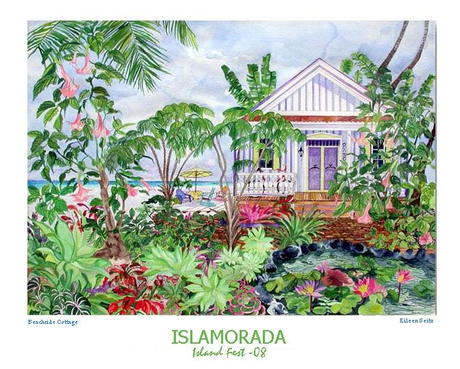 2008 Islamorada Art Festval - Beachside Cottage