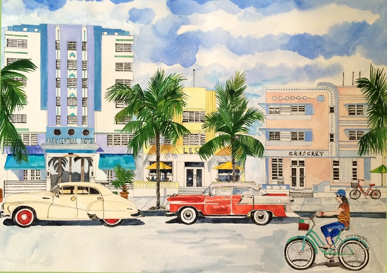 South Beach Then and Now