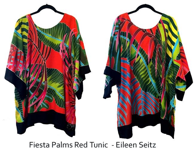 Fiesta Palms  Extra Large Tunic